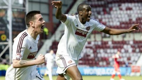 Highlights - Hearts 4-2 Ross County