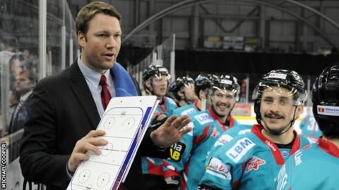 Belfast Giants coach Doug Christiansen