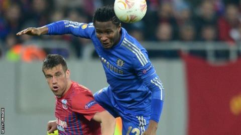 Chelsea midfielder John Mikel Obi