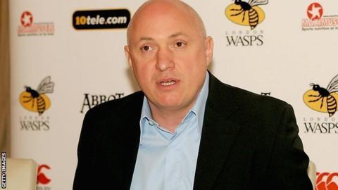 Edinburgh Rugby's new managing director David Davies