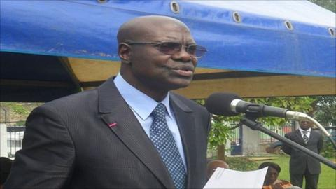 Cameroon Sports Minister Adoum Garoua