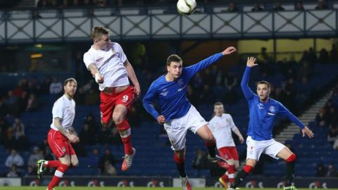 Linfield skipper Peter Thompson found the net with a 65th-minute header only to see it disallowed for offside