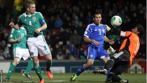 Northern Ireland were beaten 2-0 by Israel in the World Cup qualifier on 26 March