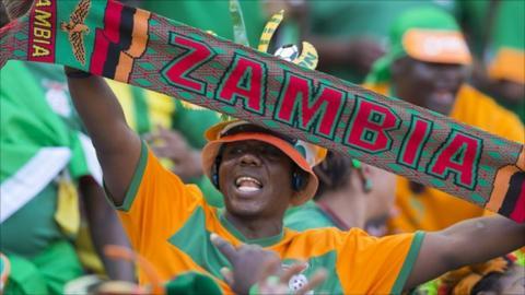 Zambian fan