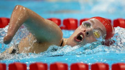 Paralympic swimmer Amy Marren