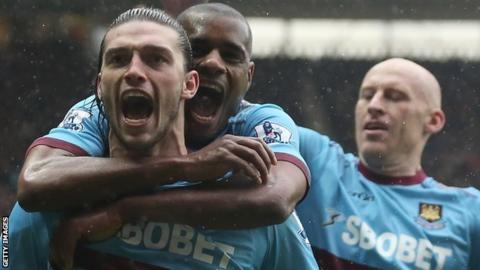 Andy Carroll; West Ham