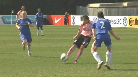Rachel Williams scores for Birmingham City