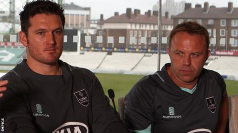 Graeme Smith and Chris Adams