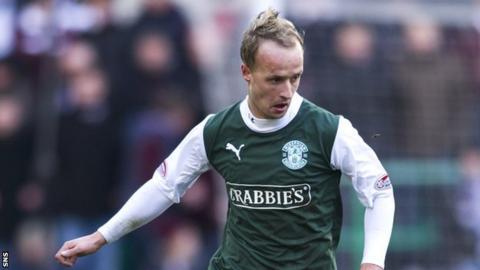 Striker Leigh Griffiths