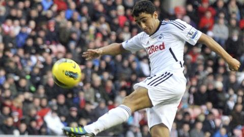 Neil Taylor of Swansea City