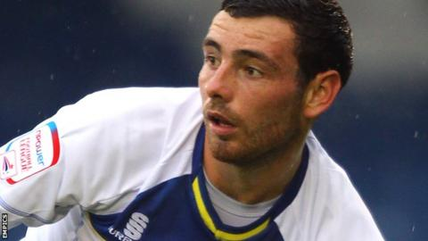 Bury midfielder David Worrall