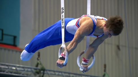 Max Whitlock on the rings