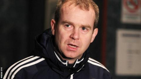 Geoff Wilson of the Irish FA