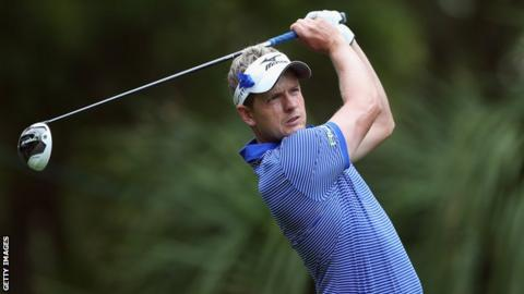 English golfer Luke Donald