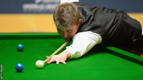 Michael White, 21, at the Crucible