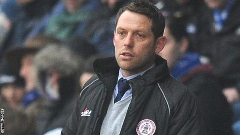 Accrington Stanley manager Leam Richardson