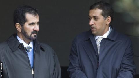 Sheikh Mohammed & Mahmood Al Zarooni