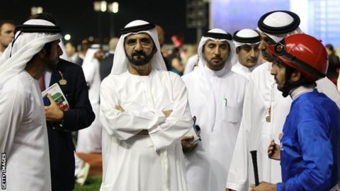 Sheikh Mohammed Al Maktoum & Godolphin team