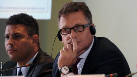 Jerome Valcke, Ronaldo