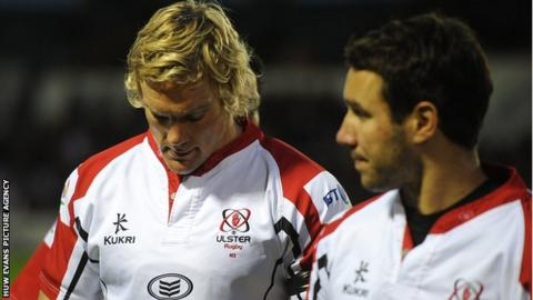 Mike McComish and Paddy Wallace of Ulster