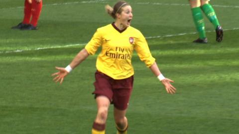 Arsenal goalscorer Ellen White