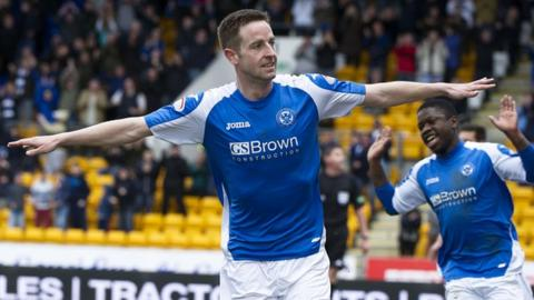 St Johnstone match-winner Steven MacLean