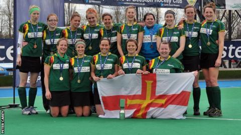 Guernsey's EH Vase winning team