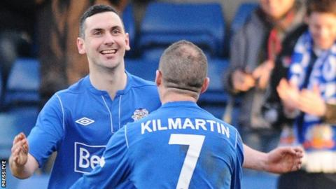 Mark Farren of Glenavon