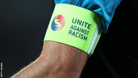 Unite Against racism armband