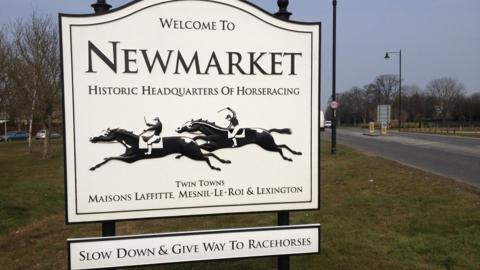 Twinned with the French racing commune Maisons-Laffitte, its neighbour Mesnil-le-Roi and American 'thoroughbred city' Lexington, Newmarket is an English town where horses have right of way