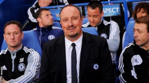 Chelsea's Rafael Benitez hopeful of final flourish to the season