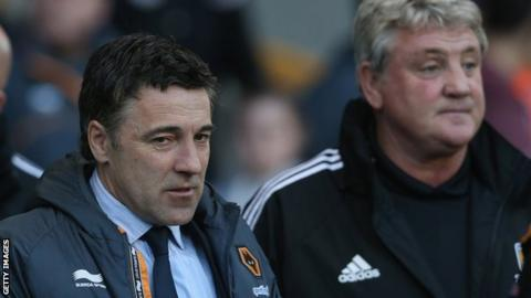 Dean Saunders and Steve Bruce