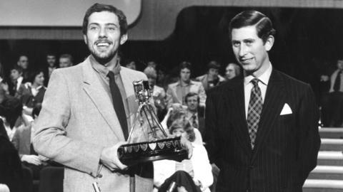 Steve Ovett and Prince Charles