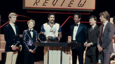 Christopher Dean, Jayne Torvill, Daley Thompson, Alex Higgins, Steve Cram