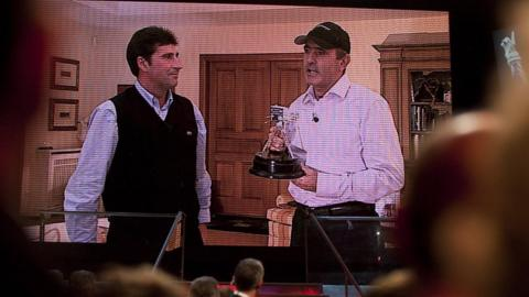 Jose Maria Olazabel and Seve Ballesteros