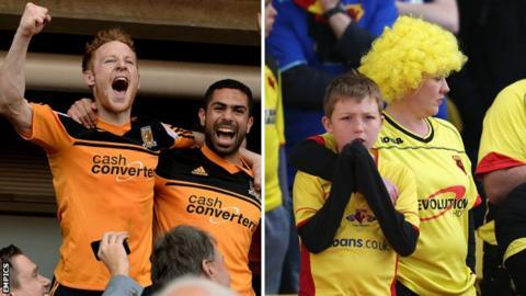 Hull City and Watford