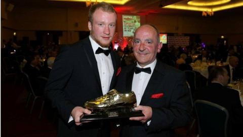Liam Boyce and Tommy Breslin
