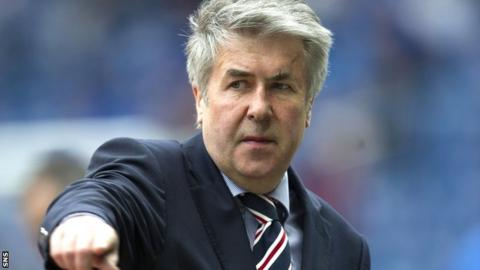 Rangers chairman Malcolm Murray