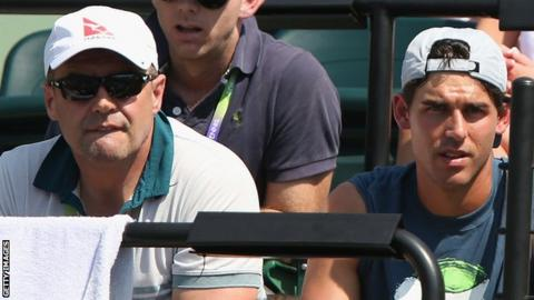 John Tomic, father of Australian tennis player Bernard.