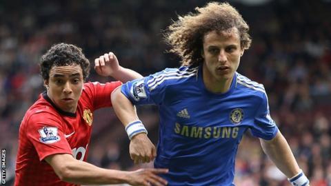 David Luiz and Rafael