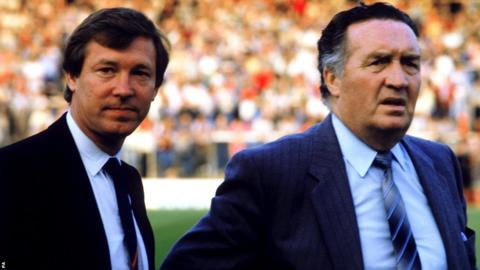 Sir Alex Ferguson and Jock Stein