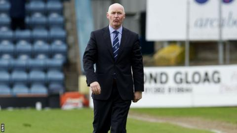 Dundee boss John Brown