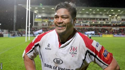 Nick Williams has made a big impact with Ulster since moving to the Irish province in June 2012