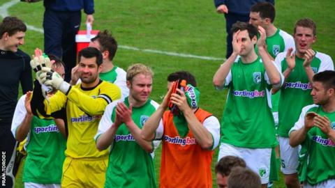 Guernsey Fc Secretary Rules Out Importing Players Bbc Sport