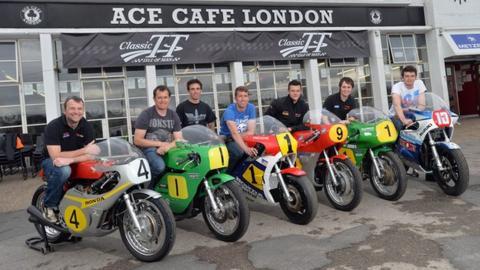 Classic TT riders