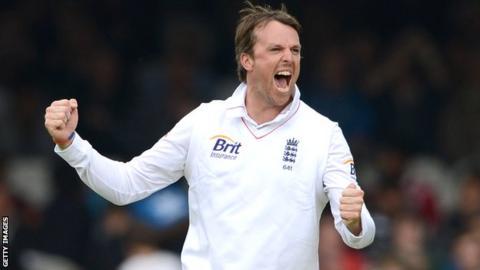 England spinner Graeme Swann