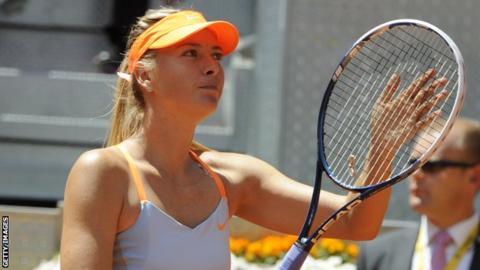 Serena Williams & Maria Sharapova into Madrid Open final