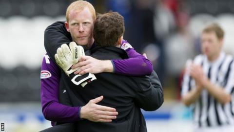 Craig Samson and Danny Lennon