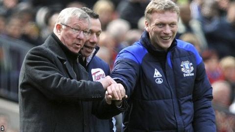 Sir Alex Ferguson and David Moyes