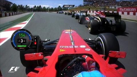 On-board with Fernando Alonso